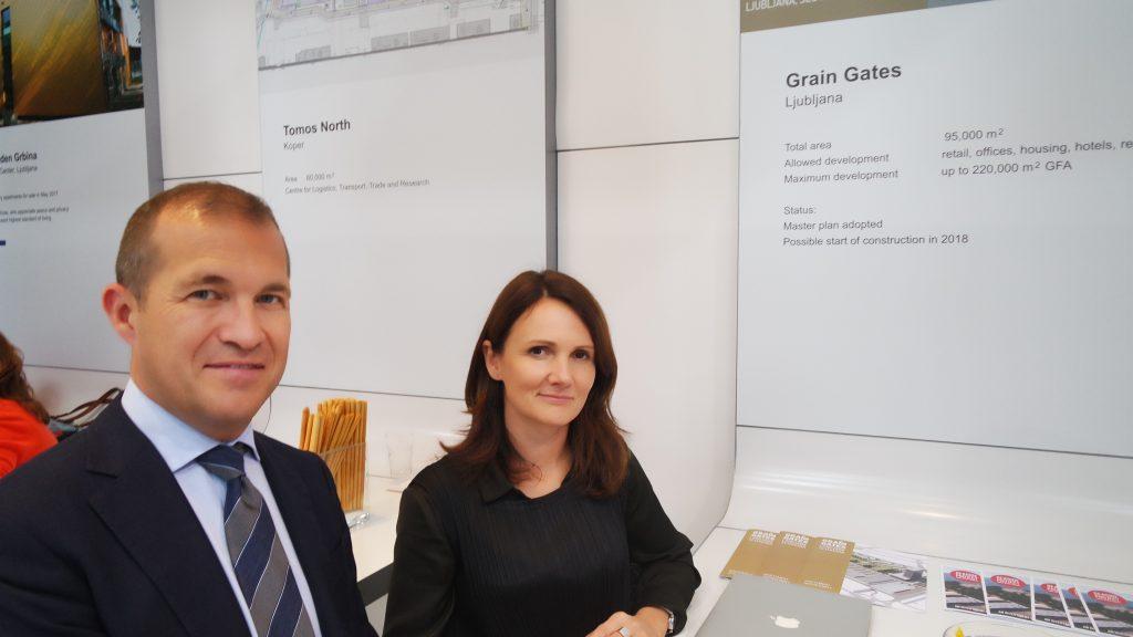 Podjetje Fundament (Mitja Križaj in Maja Standard) sta predstavila idejno zasnovo novega poslovno-stanovanjskega kompleksa v BTC.