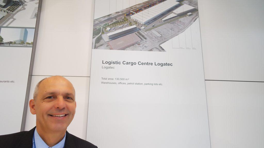 Velika priložnost za Logatec je v izgradnji največjega logističnega centra pravi Boštjan Blatnik iz ABC nepremičnin. Foto: Pino