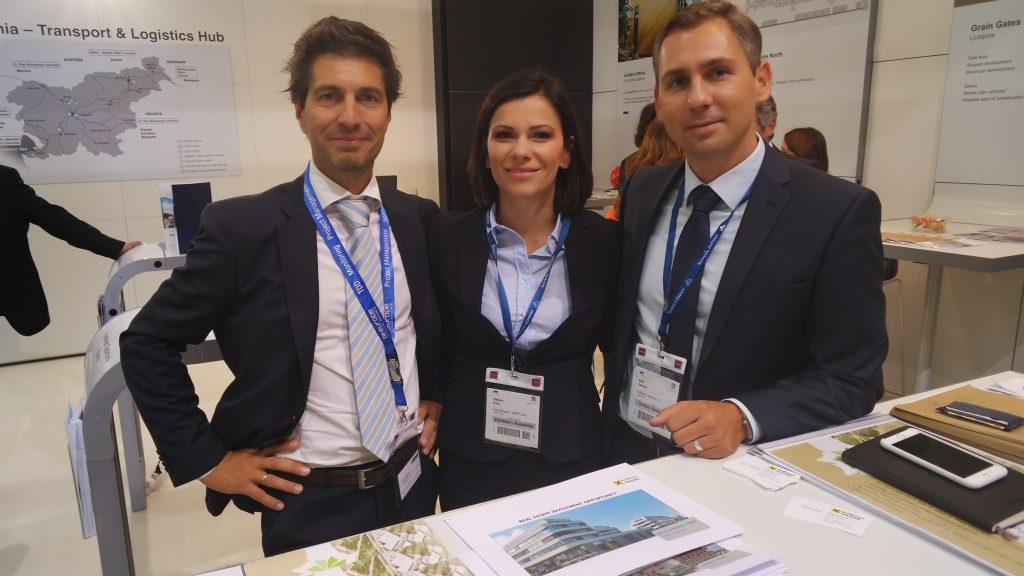 Predstavniki družbe Raiffeisen leasing predstavili AIRPORT BUSINESS PARK na Brniku