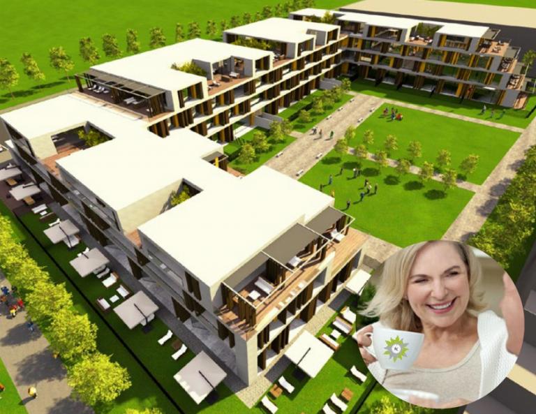 V Murglah bodo luksuzna stanovanja s klubom dobrega počutja