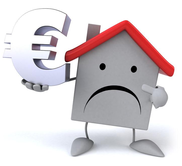 Previsoka cena nepremičnine lahko naredi veliko škode