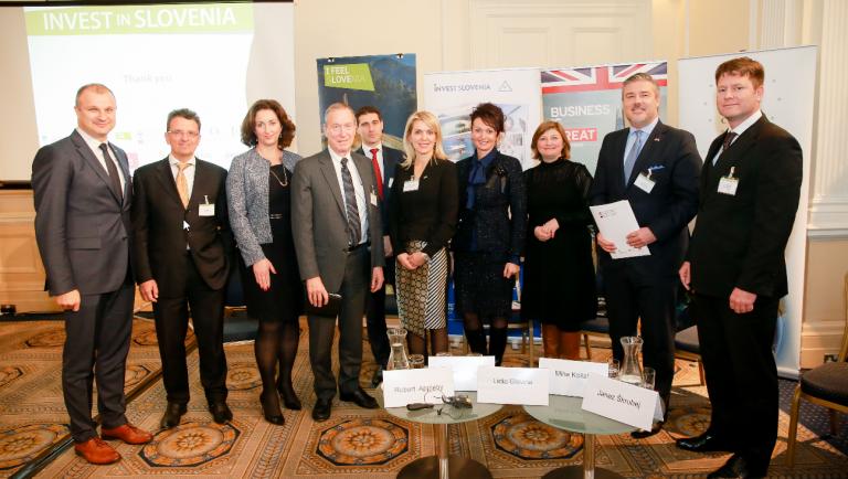 London gostil slovensko investicijsko konferenco