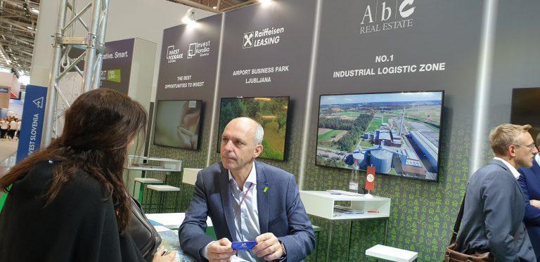 Na sejmu Expo Real predstavljeni slovenski investicijski projekti